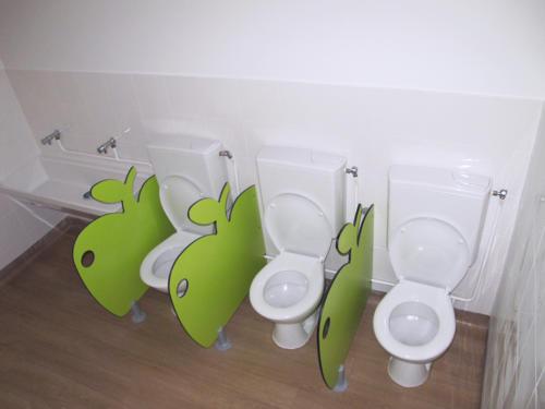 Séparations de WC