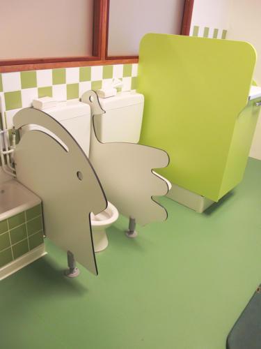 Toilettes ludique