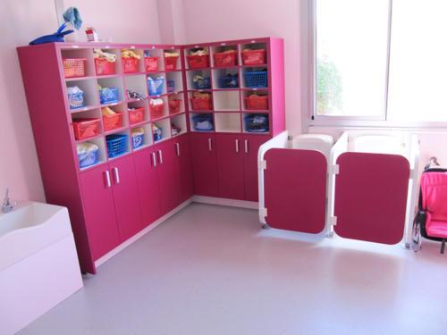 Rangements et cabines WC